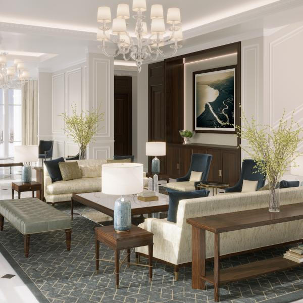 Inside The Ritz-Carlton Residences, Amman