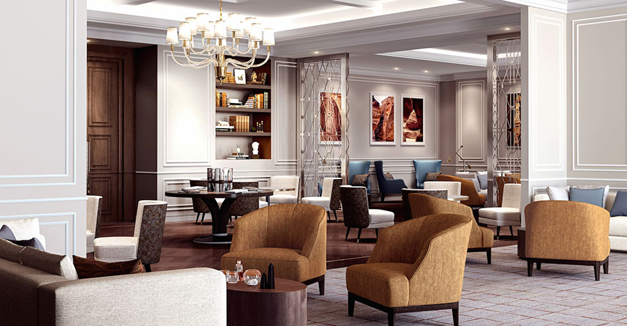 The Owner's Lounge at The Ritz-Carlton Residences, Amman